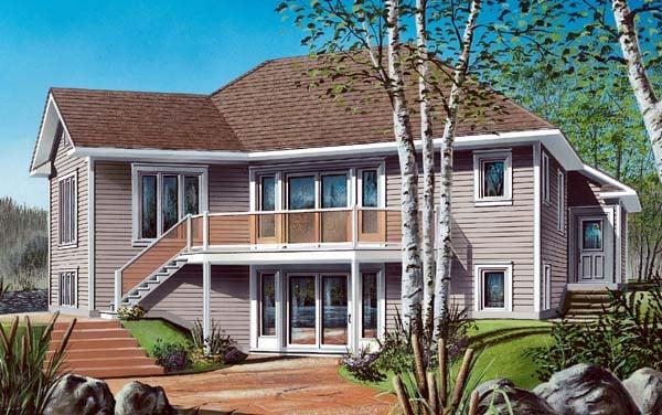Bungalow House Plan 64971 Elevation