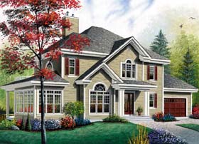 Country Traditional House Plan 64973 Elevation