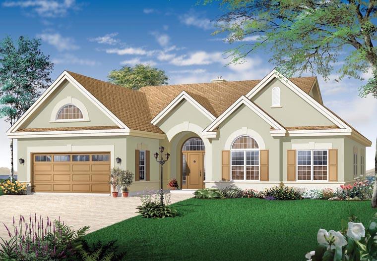 House Plan 64986 at FamilyHomePlanscom