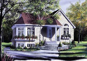 Traditional House Plan 64996 Elevation