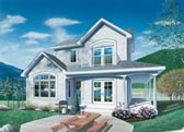 Plan Number 65013 - 1246 Square Feet