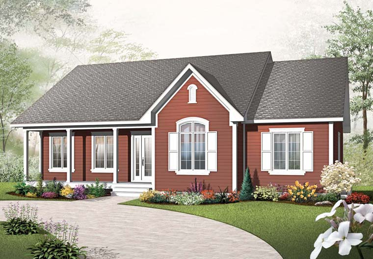 Country House Plan 65016 Elevation