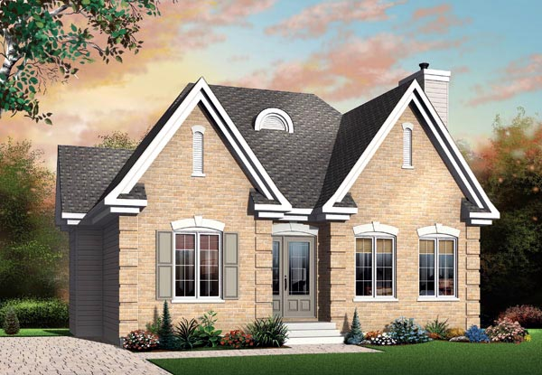 Traditional House Plan 65028 Elevation