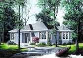 Plan Number 65033 - 994 Square Feet