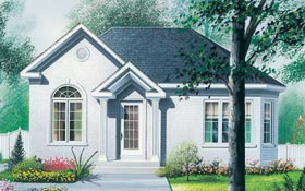 Plan Number 65034 - 929 Square Feet