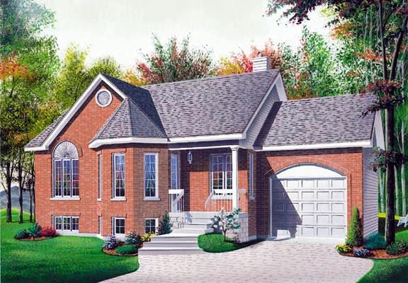 Victorian House Plan 65036 Elevation