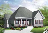 Plan Number 65042 - 1362 Square Feet