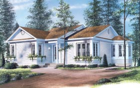 Traditional House Plan 65046 Elevation