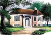 Plan Number 65049 - 1022 Square Feet