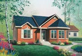 Plan Number 65053 - 994 Square Feet