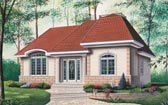 Plan Number 65055 - 1153 Square Feet