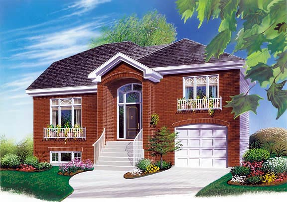 Traditional House Plan 65067 Elevation