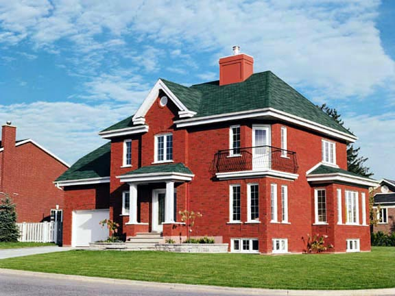Colonial House Plan 65069 Elevation