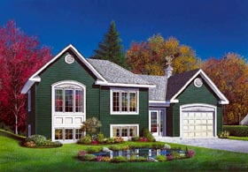 Traditional House Plan 65070 with 2 Beds, 1 Baths, 1 Car Garage Elevation