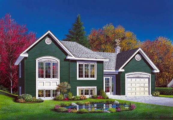 Traditional House Plan 65070 Elevation