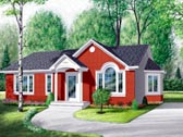 Plan Number 65071 - 1104 Square Feet
