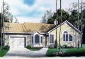 Plan Number 65073 - 1272 Square Feet