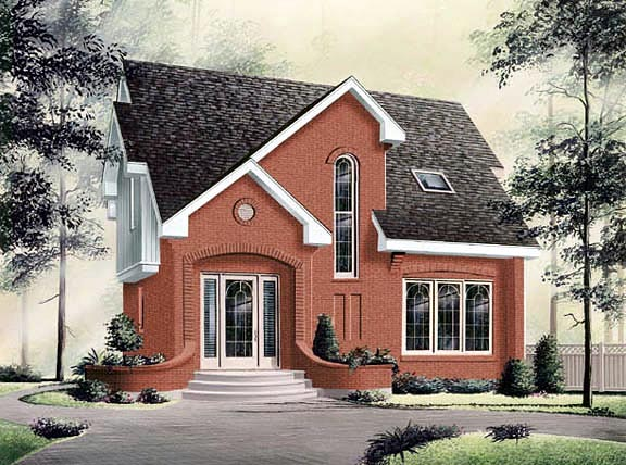 Contemporary House Plan 65082 Elevation