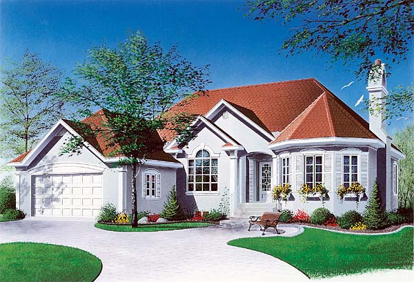 Traditional Victorian House Plan 65085 Elevation