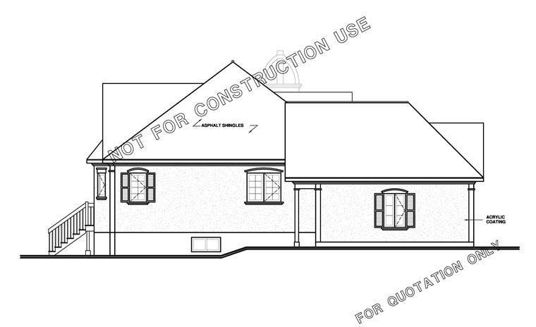 Traditional, Victorian House Plan 65085 with 2 Beds, 1 Baths, 1 Car Garage Picture 1