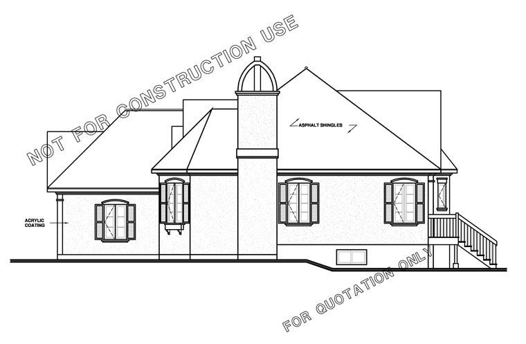 Traditional, Victorian House Plan 65085 with 2 Beds, 1 Baths, 1 Car Garage Picture 2