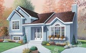 Plan Number 65087 - 1595 Square Feet