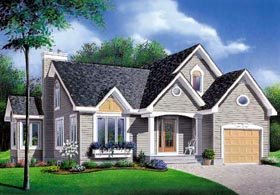 Traditional Tudor House Plan 65089 Elevation
