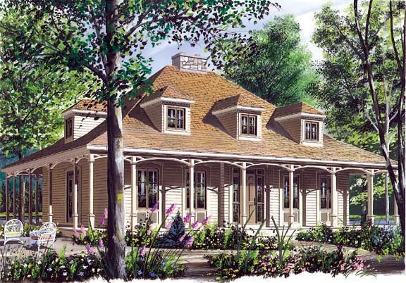 Southern House Plan 65090 Elevation