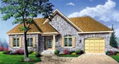 Plan Number 65093 - 1087 Square Feet