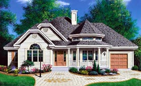 Plan Number 65096 - 1336 Square Feet