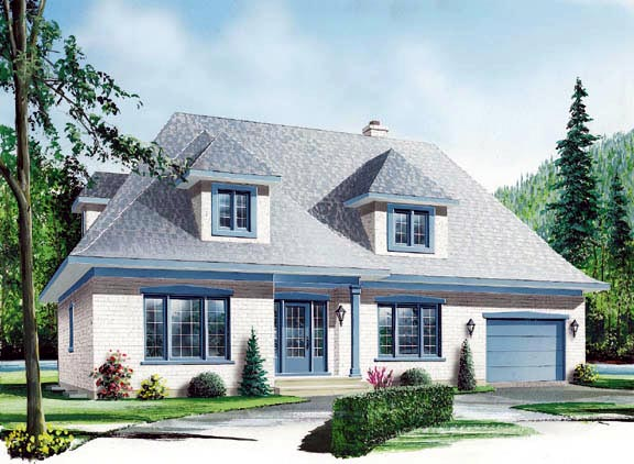 Victorian House Plan 65099 Elevation