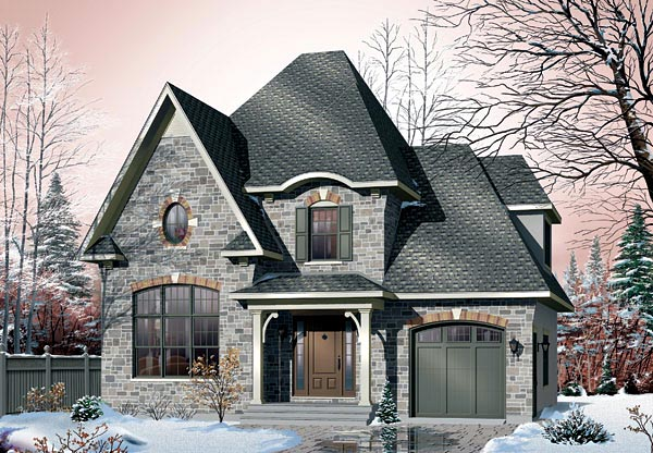 Victorian House Plan 65103 Elevation