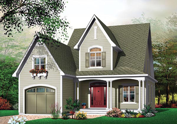 Country House Plan 65110 Elevation