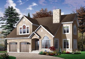 Traditional House Plan 65113 Elevation