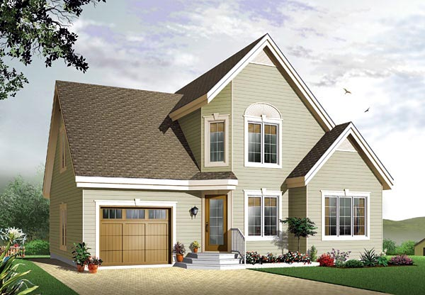 Traditional House Plan 65114 Elevation