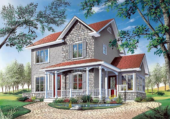 Country House Plan 65116 Elevation