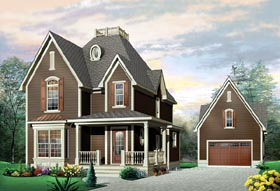 Victorian House Plan 65119 Elevation
