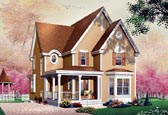 Plan Number 65121 - 1744 Square Feet