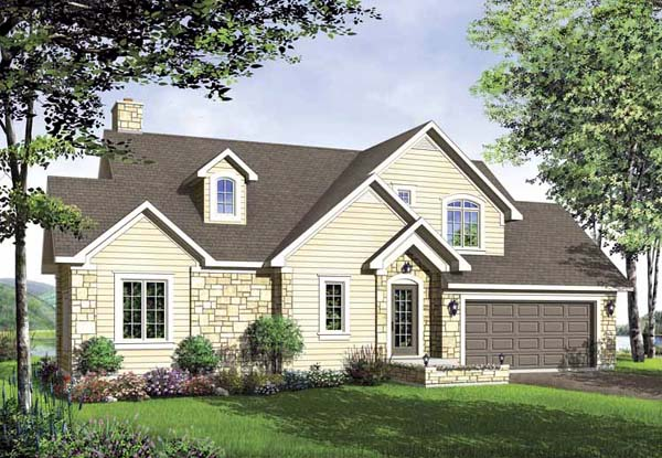 Traditional House Plan 65125 Elevation
