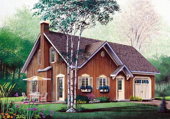Bungalow Traditional House Plan 65129 Elevation