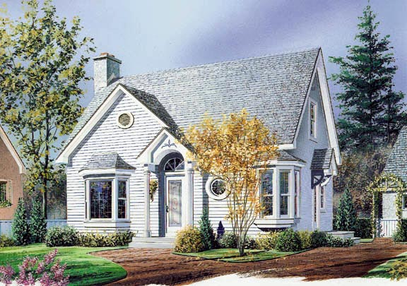 Traditional House Plan 65140 Elevation