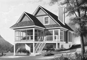 Country House Plan 65142 Elevation