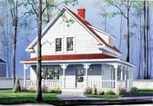 Plan Number 65146 - 1501 Square Feet
