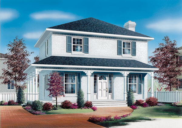 Country House Plan 65151 Elevation