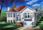 Plan Number 65156 - 1184 Square Feet