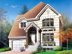 Victorian House Plan 65166 Elevation