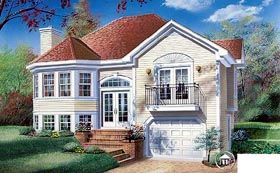 Victorian House Plan 65169 Elevation