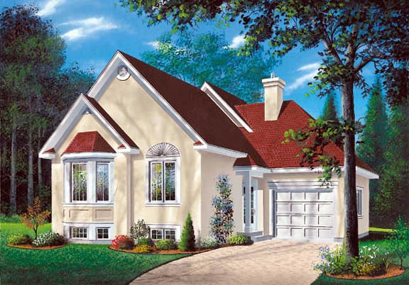 Traditional House Plan 65170 Elevation