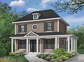 Colonial Southern House Plan 65175 Elevation