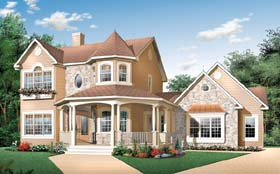 Country Victorian House Plan 65177 Elevation